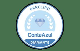 Selo parceiro conta azul - Administrar Online - Terceirização do Financeiro - BPO Financeiro